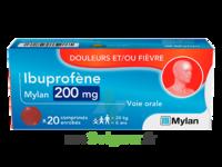 Ibuprofene Mylan 200 Mg, Comprimé Enrobé à CUISERY