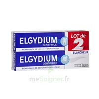 Elgydium Dentifrice Duo Blancheur Tube 2x75ml à CUISERY
