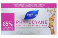PHYTOCYANE SOIN ANTICHUTE STIMULATEUR DE CROISSANCE PHYTO 12 x 7,5ML à CUISERY