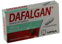 DAFALGAN 300 mg Suppositoires Plq/10 à CUISERY