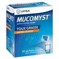 Mucomyst 200 Mg Poudre Pour Solution Buvable En Sachet B/18 à CUISERY