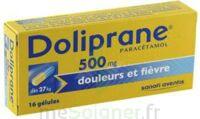 DOLIPRANE 500 mg Gélules B/16 à CUISERY