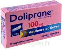 DOLIPRANE 100 mg Suppositoires sécables 2Plq/5 (10) à CUISERY
