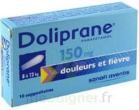 DOLIPRANE 150 mg Suppositoires 2Plq/5 (10) à CUISERY