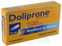 DOLIPRANE 200 mg Suppositoires 2Plq/5 (10) à CUISERY