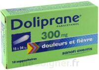 DOLIPRANE 300 mg Suppositoires 2Plq/5 (10) à CUISERY