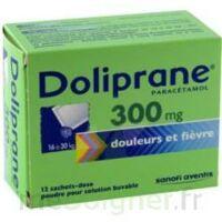 Doliprane 300 Mg Poudre Pour Solution Buvable En Sachet-dose B/12