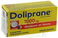 DOLIPRANE 1000 mg Comprimés effervescents sécables T/8 à CUISERY