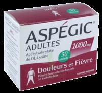 ASPEGIC ADULTES 1000 mg, poudre pour solution buvable en sachet-dose 30 à CUISERY