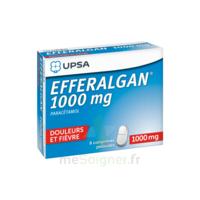 Efferalgan 1000 Mg Comprimés Pelliculés Plq/8 à CUISERY