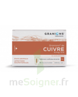 Granions De Cuivre 0,3 Mg/2 Ml S Buv 30amp/2ml à CUISERY