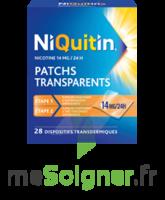 NIQUITIN 14 mg/24 heures, dispositif transdermique Sach/28 à CUISERY