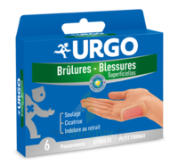URGO BRULURES-BLESSURES PETIT FORMAT x 6 à CUISERY