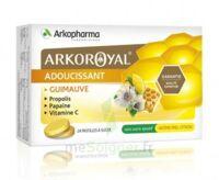 Arkoroyal Propolis Pastilles adoucissante gorge guimauve miel citron B/24