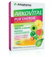 Arkovital Pur'Energie Multivitamines Comprimés dès 6 ans B/30 à CUISERY