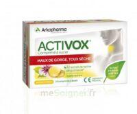Activox Comprimés à sucer citron B/24