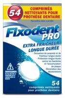 Fixodent Pro Comprimés Nettoyant Fraîcheur Longue Durée Pour Prothèse Dentaire B/54 à CUISERY