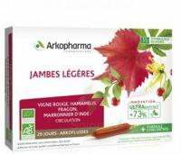 Arkofluide Bio Ultraextract Solution buvable jambes légères 20 Ampoules/10ml à CUISERY