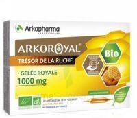 Arkoroyal Gelée Royale Bio 1000 Mg Solution Buvable 20 Ampoules/10ml à CUISERY
