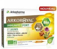 Arkoroyal Immunité Fort Solution buvable 20 Ampoules/10ml à CUISERY