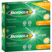 Berocca Energie Comprimés Effervescents Orange B/60 à CUISERY