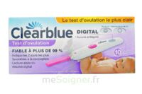 TEST D'OVULATION DIGITAL CLEARBLUE x 10 à CUISERY