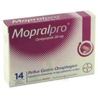 MOPRALPRO 20 mg Cpr gastro-rés Film/14 à CUISERY