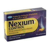 NEXIUM CONTROL 20 mg Cpr gastro-rés Plq/14 à CUISERY