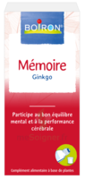 Boiron Mémoire Ginkgo Extraits de plantes Fl/60ml à CUISERY