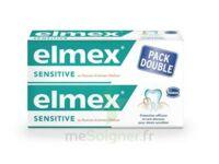 ELMEX SENSITIVE DENTIFRICE, tube 75 ml, pack 2 à CUISERY