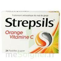 STREPSILS ORANGE VITAMINE C, pastille à CUISERY