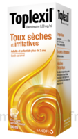 TOPLEXIL 0,33 mg/ml, sirop 150ml à CUISERY