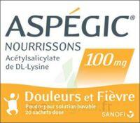 ASPEGIC NOURRISSONS 100 mg, poudre pour solution buvable en sachet-dose à CUISERY