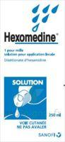 HEXOMEDINE 1 POUR MILLE S appl loc Fl/250ml à CUISERY