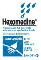 HEXOMEDINE TRANSCUTANEE 1,5 POUR MILLE, solution pour application locale à CUISERY