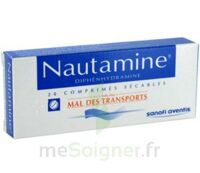 NAUTAMINE, comprimé sécable à CUISERY