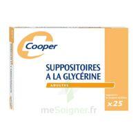 Suppositoires A La Glycerine Cooper Suppos En Récipient Multidose Adulte Sach/25 à CUISERY