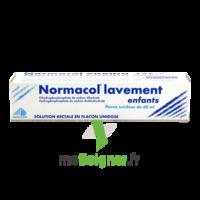 NORMACOL LAVEMENT ENFANTS, solution rectale, récipient unidose à CUISERY