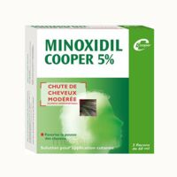 MINOXIDIL COOPER 5 %, solution pour application cutanée à CUISERY