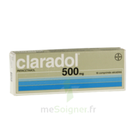CLARADOL 500 mg, comprimé sécable à CUISERY