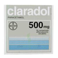 CLARADOL 500 mg, comprimé effervescent sécable à CUISERY