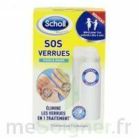 Scholl SOS Verrues traitement pieds et mains à CUISERY