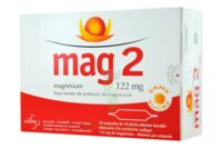 MAG 2 122 mg S buv en ampoule sans sucre édulcoré à la saccharine sodique 30Amp/10ml à CUISERY