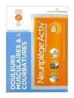 NEURIPLEGE ACTIV' patch chauffant B/2 à CUISERY