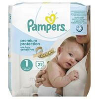 Pampers couches new baby sensitive taille 1 - 21 couches à CUISERY