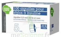 SOLUDIAB Aiguilles stylos insuline 5mm FINES 31G – Bt100 à CUISERY