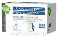 Soludiab Aiguilles Stylos Insuline 5mm Fines 31g – Bt100 à CUISERY