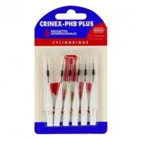 CRINEX PHB PLUS Brossette inter-dentaire cylindrique B/6