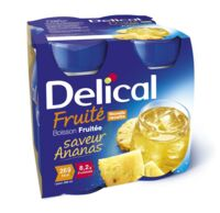 Delical Boisson Fruitee Nutriment Ananas 4bouteilles/200ml à CUISERY