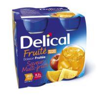 DELICAL BOISSON FRUITEE Nutriment multi fruits 4Bouteilles/200ml à CUISERY